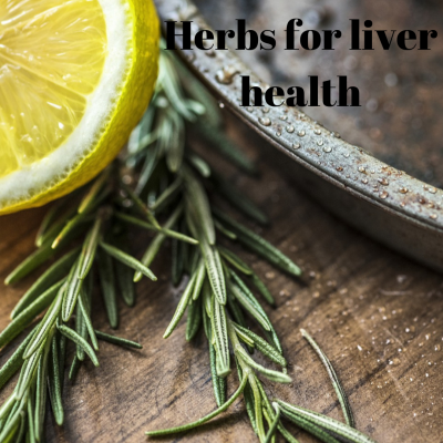 Herbs for liver health