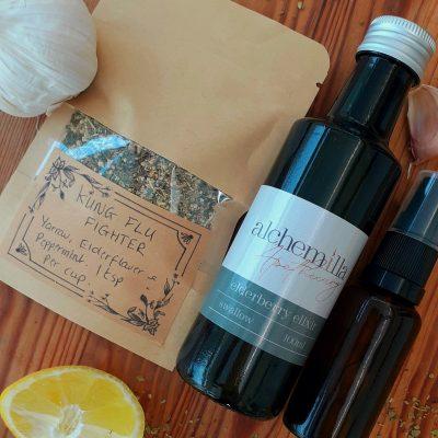 Herbal anti viral kit