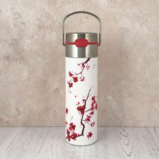 Cherry Blossom Tea Flask